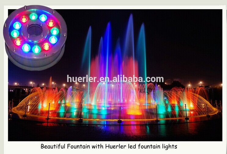 Solar Color Changing Ring Fountain Led Underwater Lights Led Swimming Pool Light Lamp Buy Pool