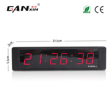 [Ganxin]1'' New Design Mini Digital Led Alarm Clock Race Timer Clock with 12/24H Electronic Digital Led Wall Clock