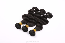 body wave peruvian hair 100% remy human hair extension no mix,no tangle no shedding body hair weaving