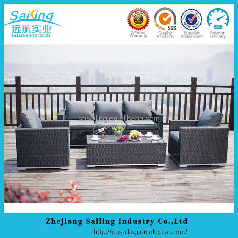 New Style Viro Outdoor Furniture Wicker Patio Sofa Set