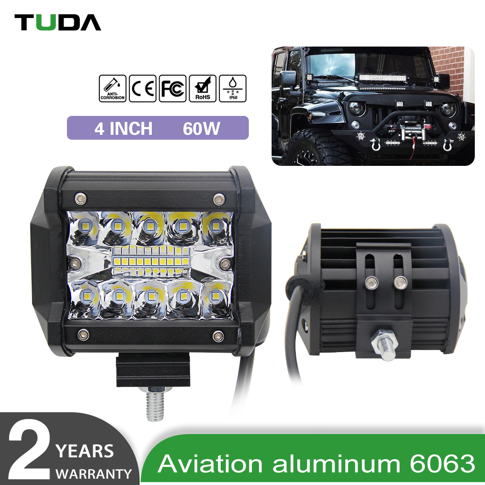 Wholesale Optics Jeep Wrangler Atv 4X4 Off Road 12 Volt 72W New Mini Triple 3 Row Led Work Light Bar Offroad