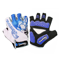 RIGWARL 1 Pair Outdoor Sport Gloves Summer Cycling Bike Bicycle Riding Half Finger Gloves Shockproof S/M/L