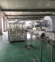 Fully Automatic Liquid Packing Machine Water Washing Filling Capping Production Line
