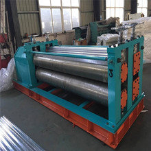 arc waves bending corrugated steel sheets roofing panel curving machine