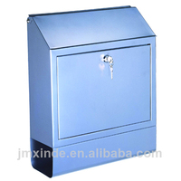 China whole sale market clear plastic mail box mini mailbox