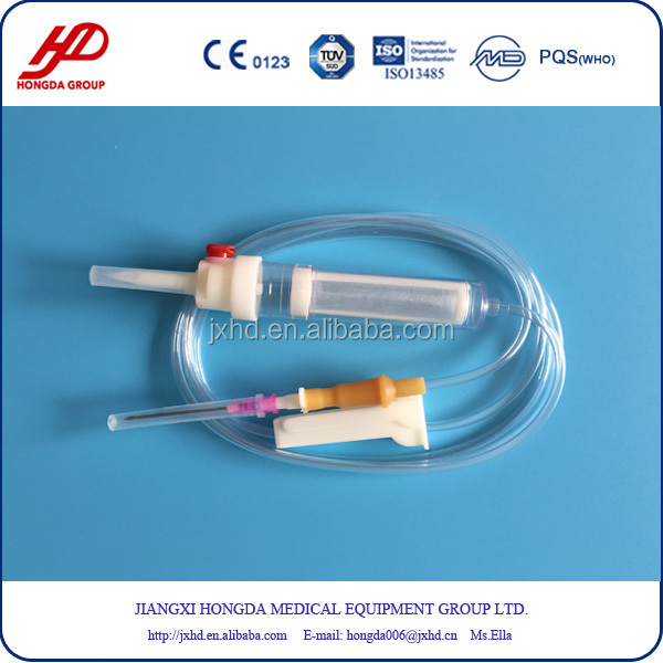 CE ISO Approved Blood Transfusion IV Set