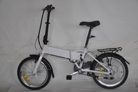 20 inch light weight folding panasonic electric bicycle EN15194