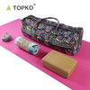 TOPKO Wholesale Fitness Custom Yoga Bag/Towel/Block Yoga Kit