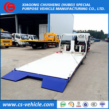 China factory selling Dongfeng 3T flatbed tow truck wrecker 3T flatbed towing truck