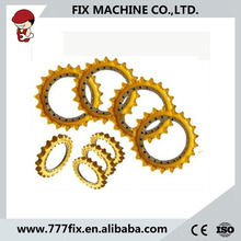 excavator roller sprocket spare part pc130-7 pc200-7 drive sprocket chain sprocket