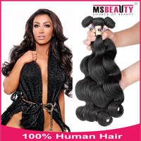 Top 100% Indian body wave human hair expression hair extensions.