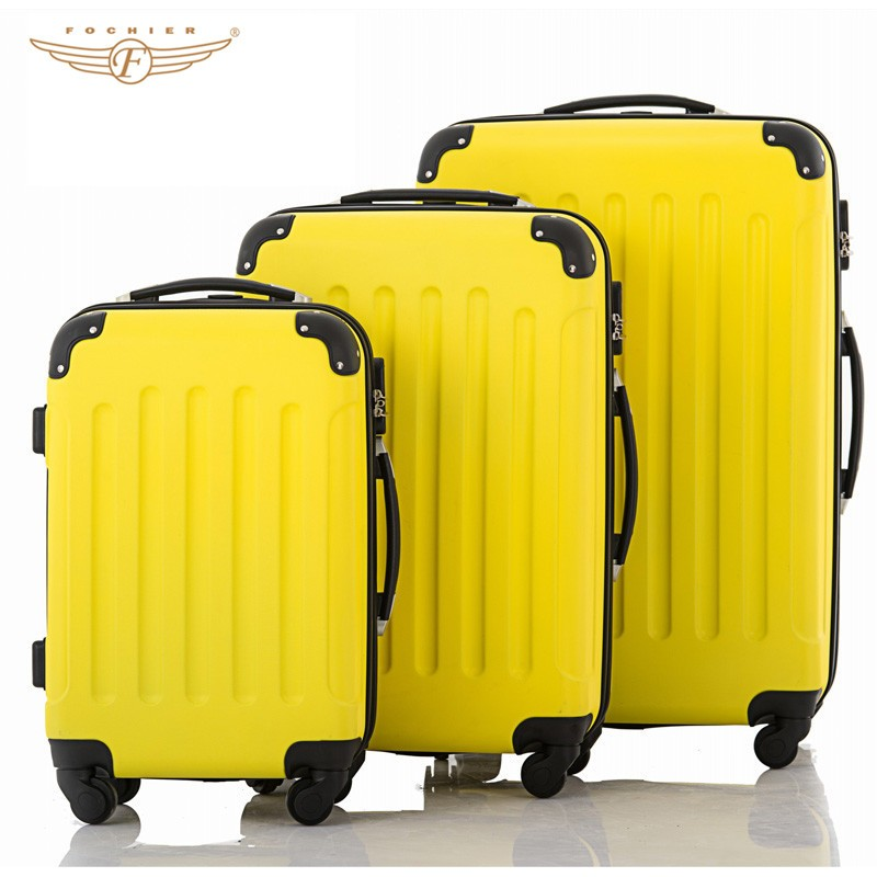 elegant trolley luggage travel bags
