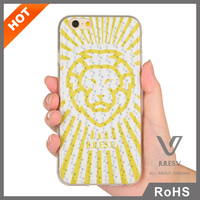 Soft animal case glow for iPhone 6 rubber case with custom design