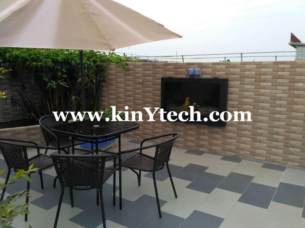 networking outdoor tv enclosure for advertising waterproof