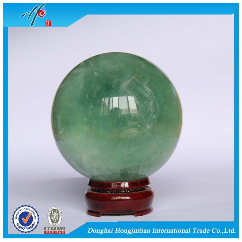wholesale Natural crystal Stones christmas flourite ornament ball