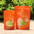 Top Pack aluminum foil three side sealed facial mask bags