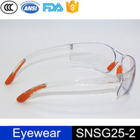 Fashionable Dustproof Nose Pad PVC Leg Frameless Safety Protective Glasses