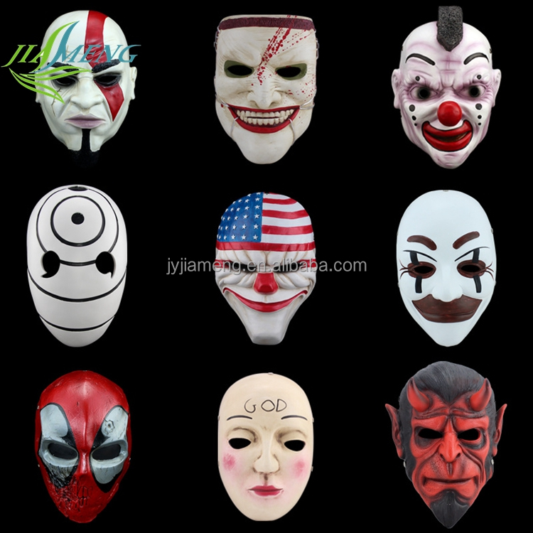 custom made masquerade masks Hot Sale EVA Foam Halloween Mask For Party Decoration carnival supplies feathers masks