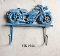 Cast Iron Motorcycle Key Coat Hat Hook