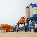 HZS50 bucket concrete mixer plant for sale to Russia