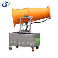 Environmental protection portable fog cannon industrial cooling humidifier air cool mist washer humidifier with fan