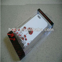 OEM Mobile Phone Case Packaging,Plastic Phone Packing Box