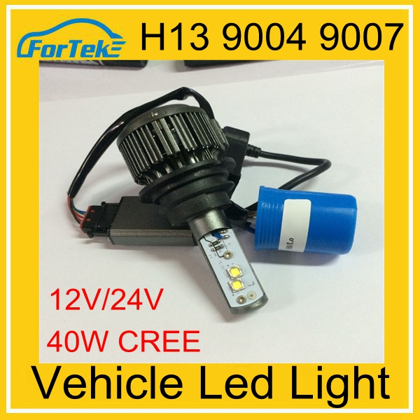 Credible supplier quick bright led scooter headlight 40W LED HEAD LIGHT 6000K