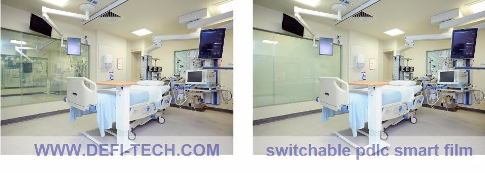 PDLC Smart Film With Switchable,iquid crystal film