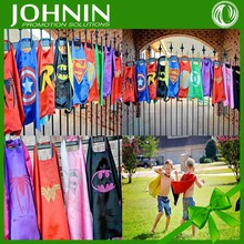 OEM children and your own logo adult superhero cape