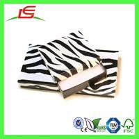 E0134 Alibaba Wholesale Eco-friendly Zebra Print Recycled Cardboard Gift Box For Jewelry Display