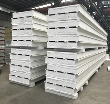 Zhongjie factory 200MM high density Polystyrene eps cheapest sandwich roof panel
