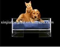 square Acrylic Pet/dog/cat Bed/house