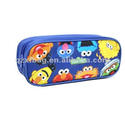2012 XFP-0037 Children Cute Blue pencil bag