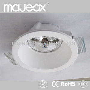 Commercial sealing Plaster Gypsum low voltage downlights