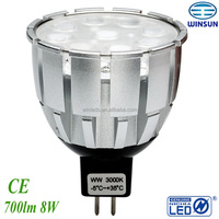 alibaba express dimmable 500lm mr16 led spot,nichia led,CE ROHS SAA
