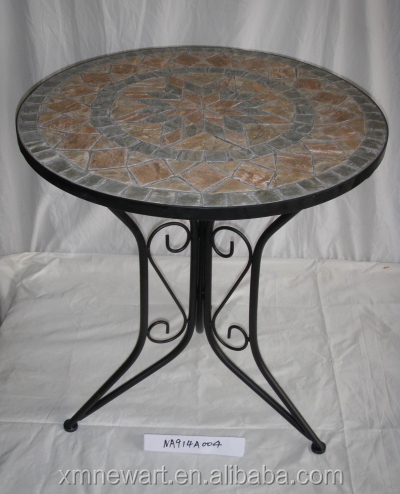cheap wrought iron outdoor garden table and chair garden table chairs sale mosaic table pattern