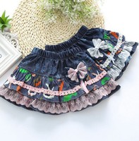 C57061S Hot sale most popular summer fashion short girls denim skirts