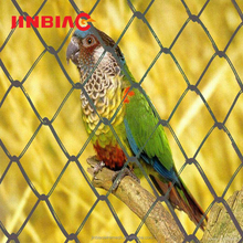 cheap diamond wire mesh fabric fence chain link bird cage