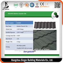 Zinc Aluminium Metal Roof Shingles Philippines, Lightweight Spanish Roof Tiles Prices