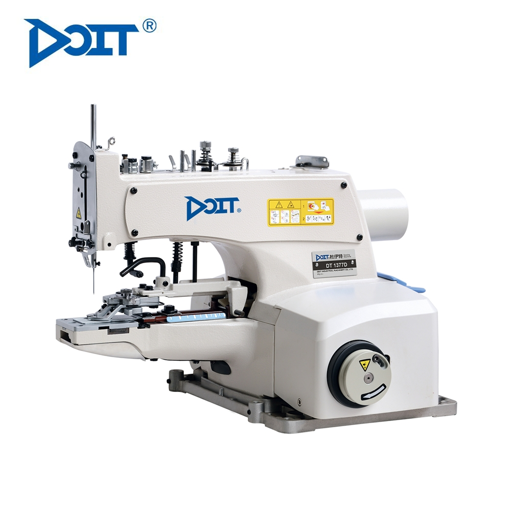 DT1377D Direct drive high speed button-attaching machine