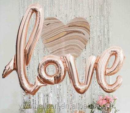 [HOT ]LOVE foil balloon Wedding Party Decoration Wholesale