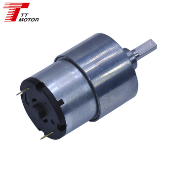 Low speed electric mini gear dc motor 12v 45w 150rpm