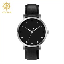 Vogue Beautiful Woman Wathces Oem Private Label Cool Watch Black