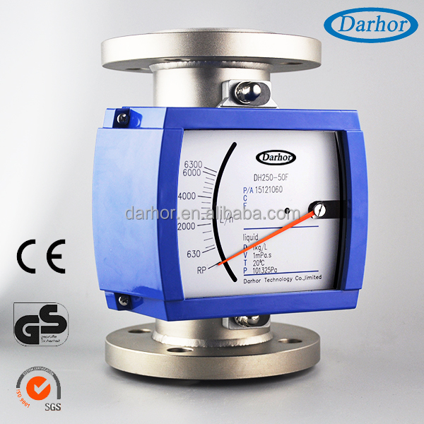 All in one solution vortex co2 gas flow meter