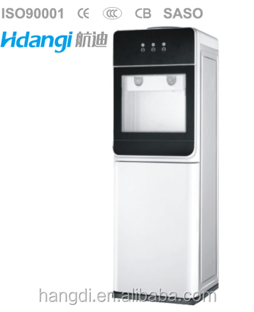 Wholesale compressor cooling glass water dispenser machine / hot and cold standing water dispenser China HD-1723(CB)