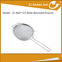 hot sell and useful western kitchen tool stainless steel strainer