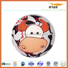 Rubber basketball/courts laminated pictures logo rubber basketball