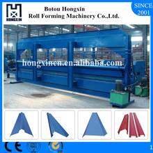 Hebei Electrical Motor Switch Colored Steel Roof Sheet Plate Bending Machine Manufacturer