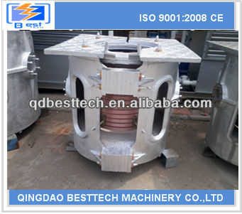 0.05-2t melting induction furnace, aluminum melting furnace, induction furnace graphite crucible