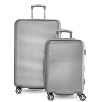 classic design abs+pc spinner luggage set